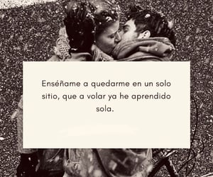 love, frases, and quedarme image