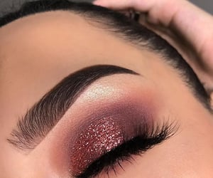 eyeshadow, makeup, and girl image