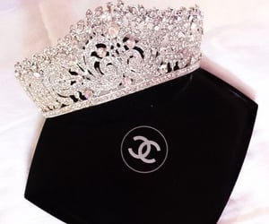 chanel, crown, and girly image