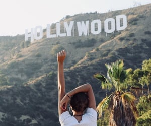 california, girl, and hollywood image