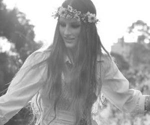 Chica, corona, and hippies image