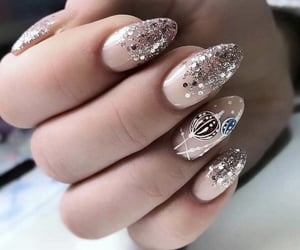 beige, ornaments, and pink image