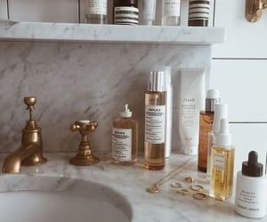 beauty, bathroom, and skincare image