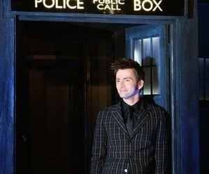 blue, doctor who, and police image