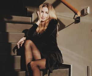 black dress, calzedonia, and mario gotze image