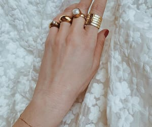 bracelets, fashion, and fingers image