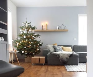 aesthetic, christmas, and decorating image
