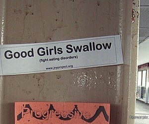 eating disorder, swallow, and anorexia image