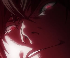 death note, anime, and light image