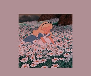 wallpaper, disney, and flowers image