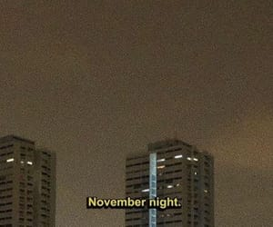 november, aesthetic, and city image