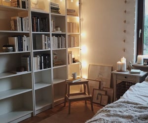 books, decoration, and home image