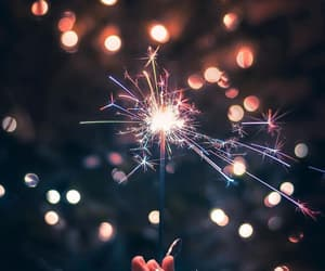 light, new year, and photography image