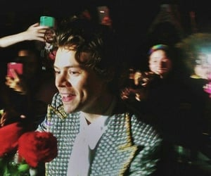 flowers, wallpaper, and harry styles tour image