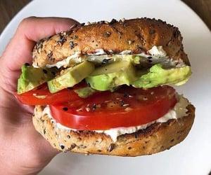 food, avocado, and goals image