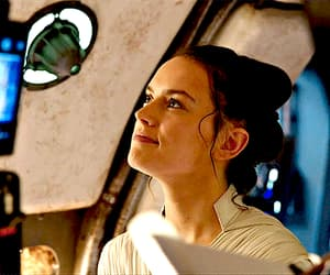 gif, star wars, and daisy ridley image