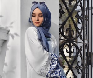 beauty, muslim, and white image