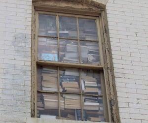 book, aesthetic, and window image