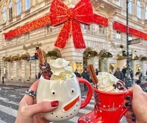christmas, decoration, and london image