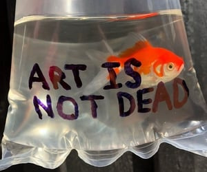art, fish, and aesthetic image