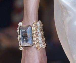 bracelet, diamonds, and gems image