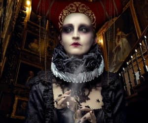 dark, occult, and macabre image