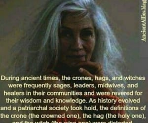 crone, witch, and hag image