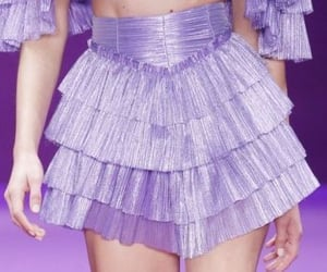 haute couture, high fashion, and purple image