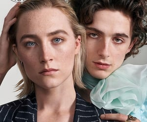 Saoirse Ronan, timothee chalamet, and little women image