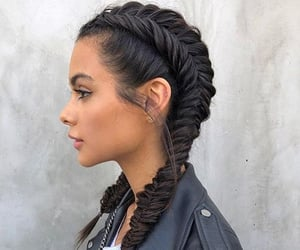 braid, hair, and beauty image