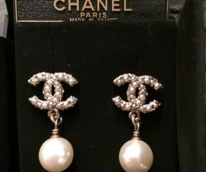 chanel, earrings, and jewelry image