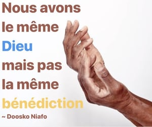 blessing, french, and motivation image