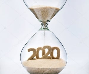 2020, happy new year, and 2019 image