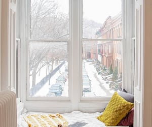 brownstone, decor, and windowseat image