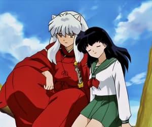 inuyasha, love, and anime image