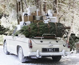 beautiful, car, and christmas image