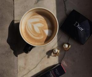 chic, coffee, and fashion image