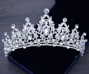 bijoux, diamant, and couronne image