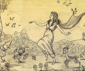 1934, concept art, and silly symphony image