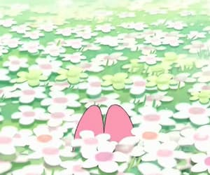 bunny, gif, and my melody image