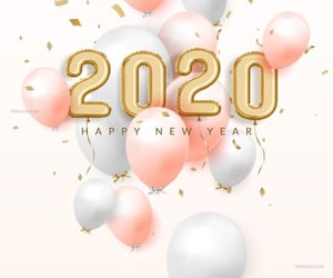 2020, happy new year, and año nuevo image