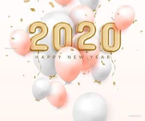 2020, happy new year, and año nuevo image
