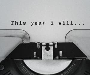 2020, new year, and resolutions image
