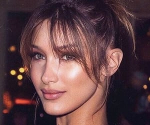 bella hadid and fashion image