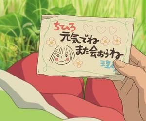 spirited away, chihiro, and ghibli image