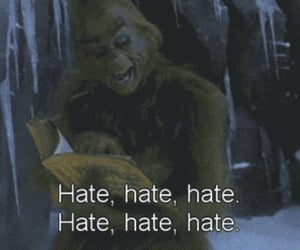christmas, hate, and love it image
