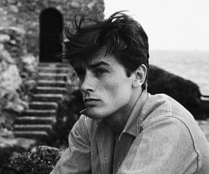 boy, Alain Delon, and vintage image