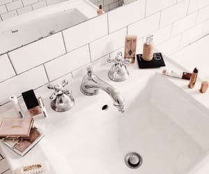 accessories, bathroom, and chic image