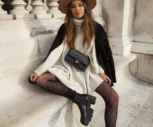 boots, chanel, and fashion image