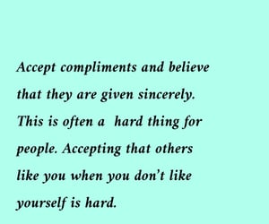 accept, compliments, and like image
